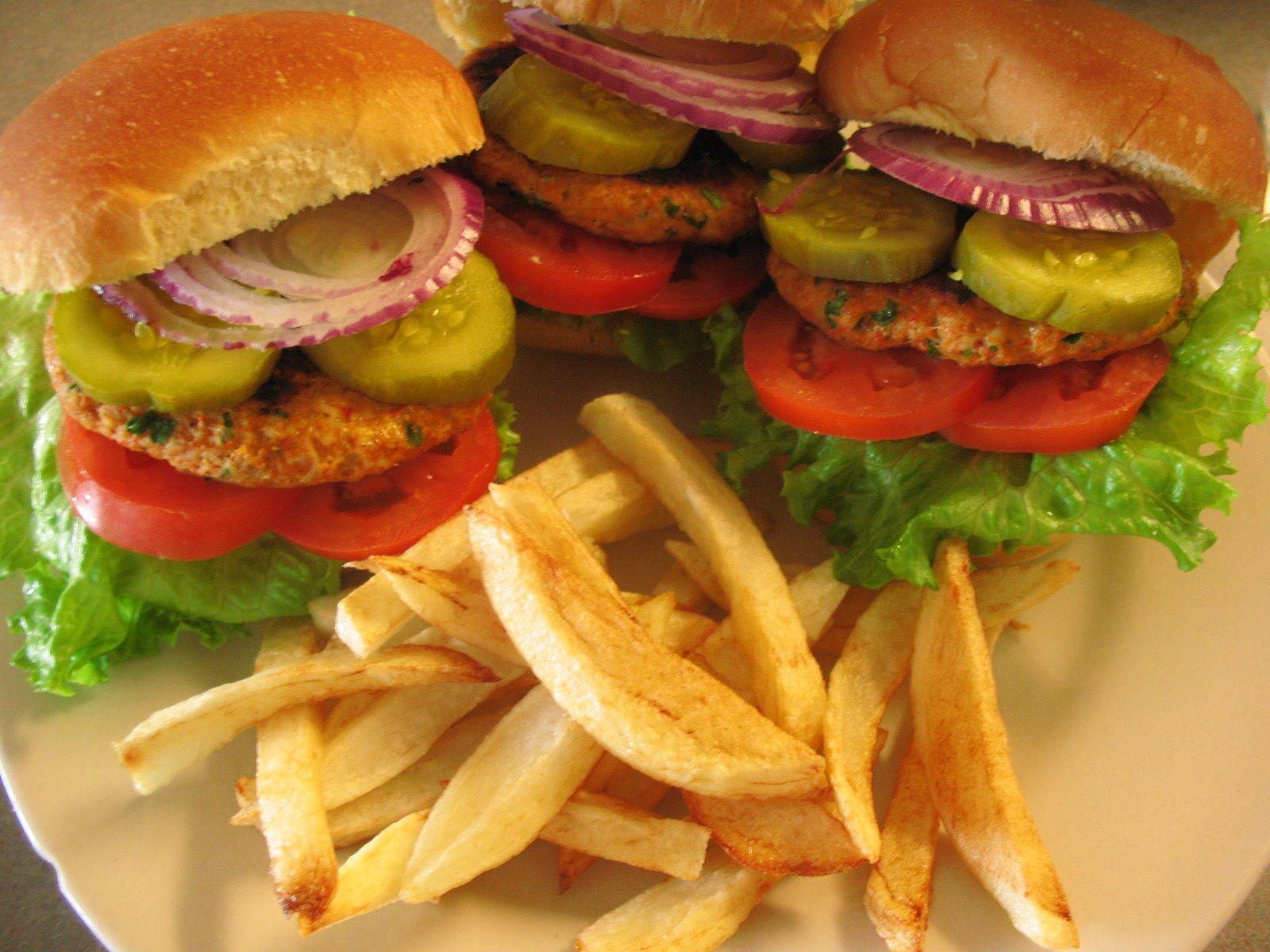 Ev Yapımı Tavuk Burger